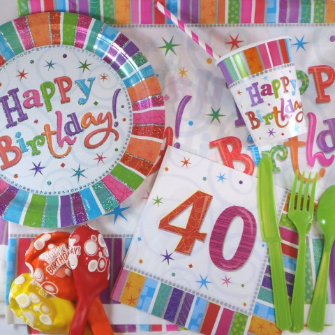 Boîte anniversaire 40 ans