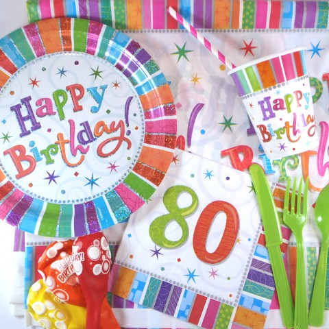 Boîte anniversaire 80 ans