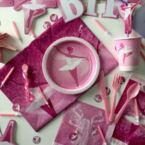 Boîte décoration anniversaire Ballerines