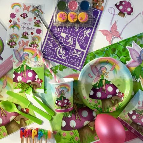 Boîte décoration anniversaire fées