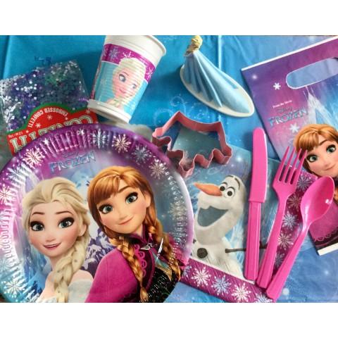 Boîte anniversaire Reine des Neiges